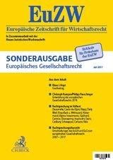 Sonderdruck Europäisches Gesellschaftsrecht