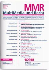 MMR Heft 1/2018