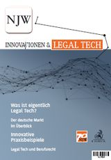 Sonderdruck Legal Tech