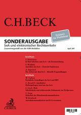 Sonderdruck beA